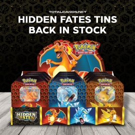 Pokemon: Hidden Fates Tins Reprint Now Available!!