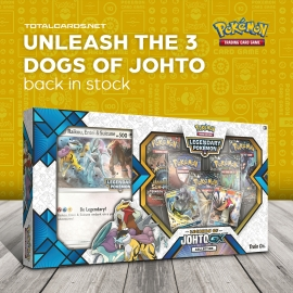 Pokemon Legends of Johto GX Collection is Back in Stock