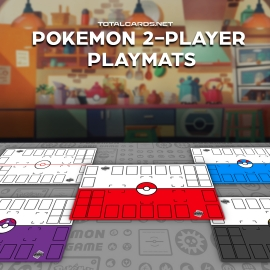 Check out our brand new Pokemon 2-player playmats!