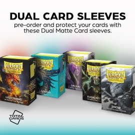 Protect your cards with these awesome Dragon Shield sleeves!