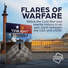 Experience the Cold War with Twilight Struggle!