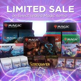 Take advantage of our limited Magic Sale!