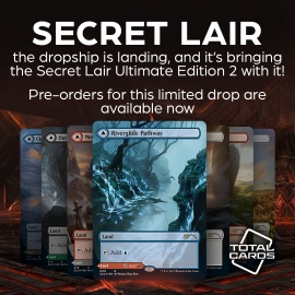 Be the master of lands with Secret Lair Ultimate Edition 2!