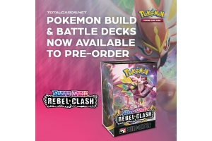 Pokemon Sword & Shield Rebel Clash Build & Battle Box Now Available to Pre-Order