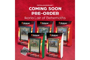 Magic thre Gathering Ikroia Lair of Behemoths Available to Pre-Order