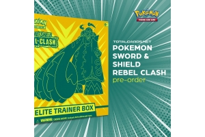 Pokemon Sword & Shield Rebel Clash Releases May 1st!!!! DOn't forget to Pre-Order!!!