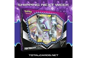 Pokemon Toxtricity V Box Shipping Next Week!!!