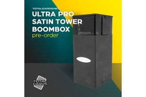 Your Wacky Product of the Day! The Ultra Pro Satin Tower Boombox