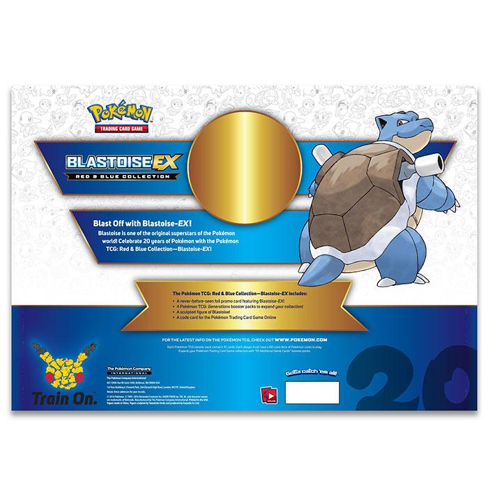 Pokemon - Red & Blue Collection - Blastoise - EX Box