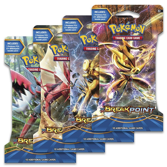 Pokemon - XY Breakpoint - Blister Booster
