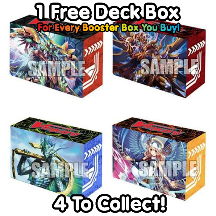 Cardfight!! Vanguard - Seal Dragons Unleashed - Booster Box (30 Packs)