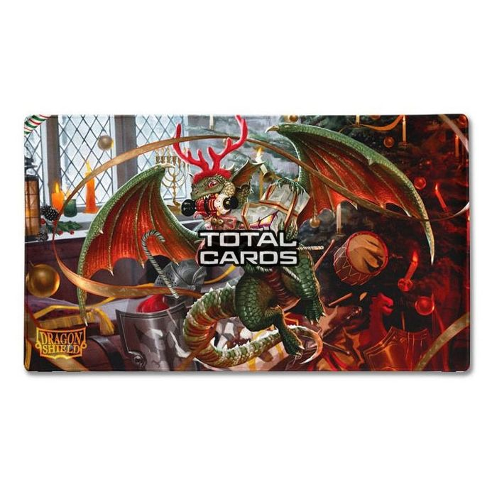 2020 Christmas Dragon Dragon Shield   Playmat   Christmas Dragon 2020   TotalCards.net