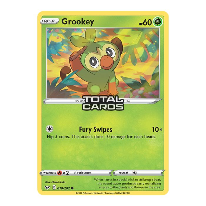 Pokemon Sword Shield Base Set Grookey 010 202 Totalcards Net Actually, it's different depending on what we're doing: total cards