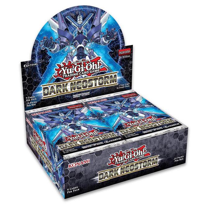 Yugioh - Dark NeoStorm - Booster Box - (24 Packs)