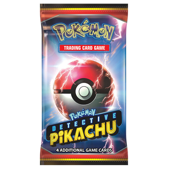 Pokemon - Detective Pikachu - Booster Pack