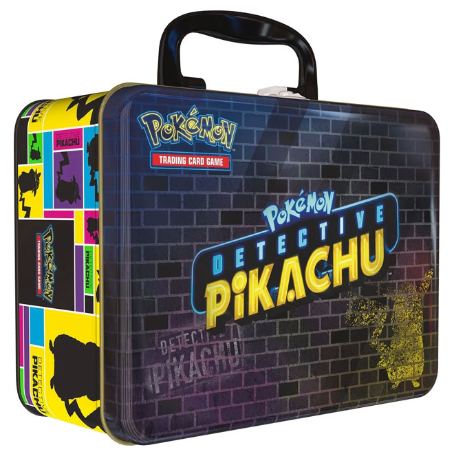Pokemon - Detective Pikachu Collector Chest Tin