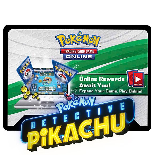 Pokemon - Detective Pikachu - Online Code Card