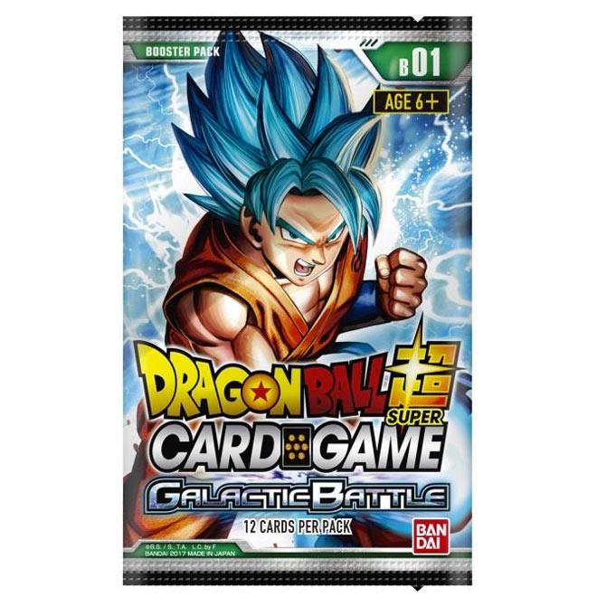 Dragon Ball Super Card Game - B01 Galactic Battle - Booster Box