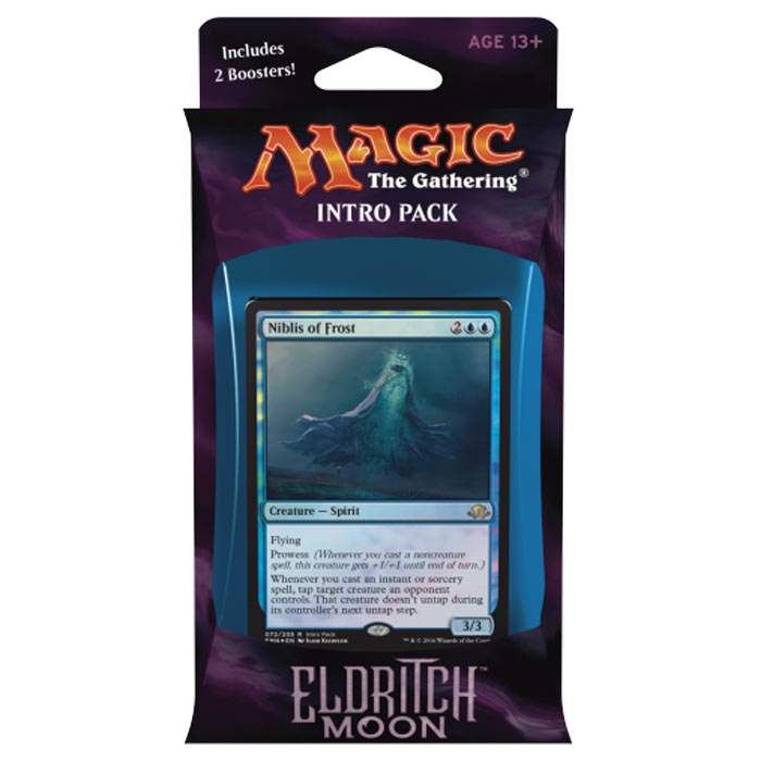 Magic The Gathering - Eldritch Moon - Intro Pack (Blue)