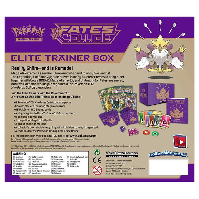 XY Fates Collide - Elite Trainer Box