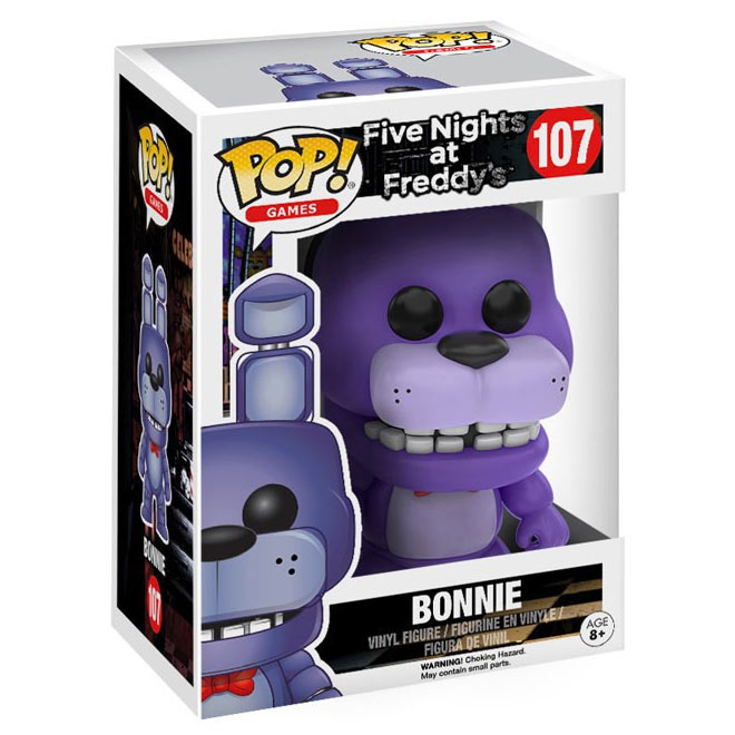 Funko POP! - Five Nights at Freddy's - Bonnie #107