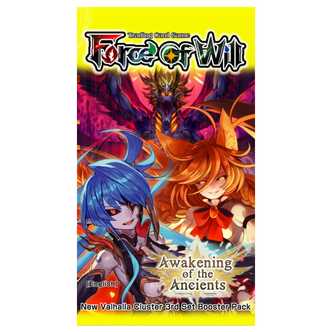 Force of Will - Awakening of the Ancients - Booster Pack