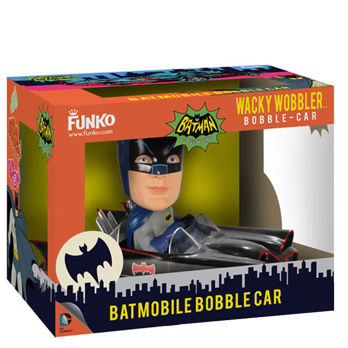 Funko Wacky Wobler - Batman 1966 - Batmobile Bobble Car - 2 Set