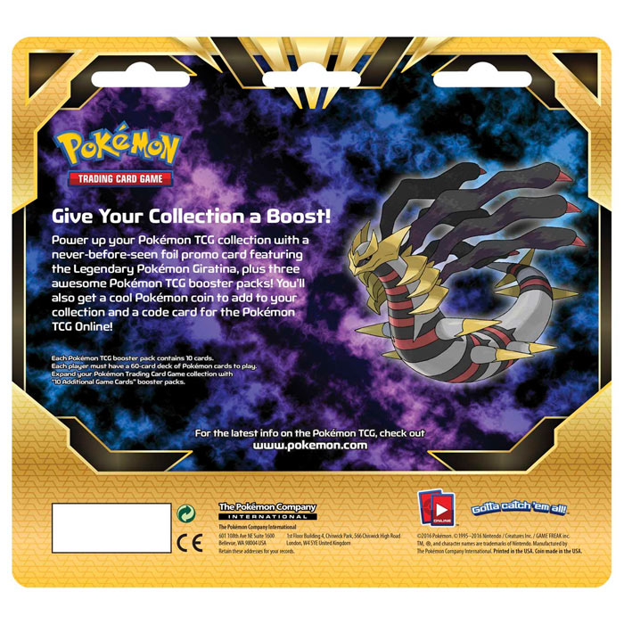 Pokemon Giratina - 3 Pack Blister