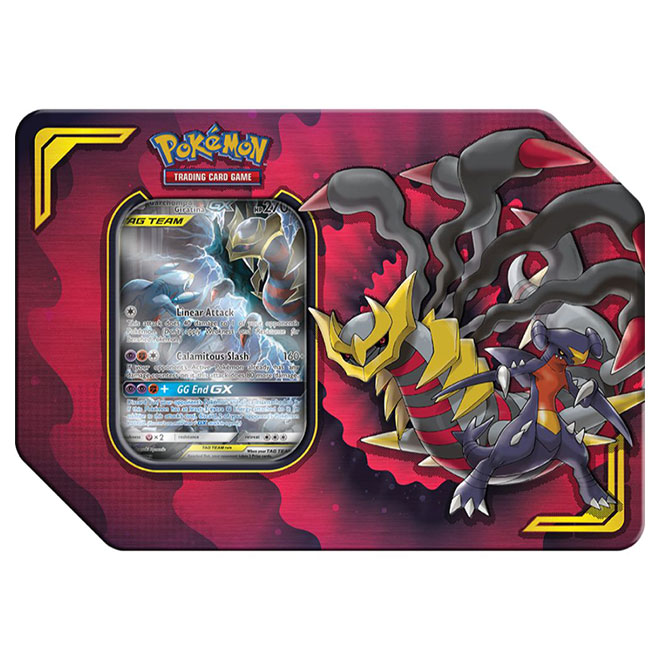 Pokemon - Power Partnership Tin - Garchomp & Giratina - GX