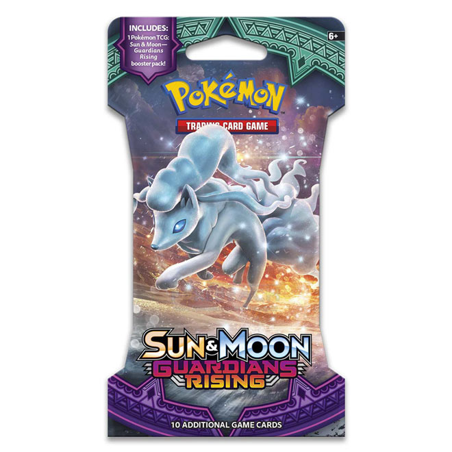Pokemon - Sun & Moon - Guardians Rising - Blister Booster