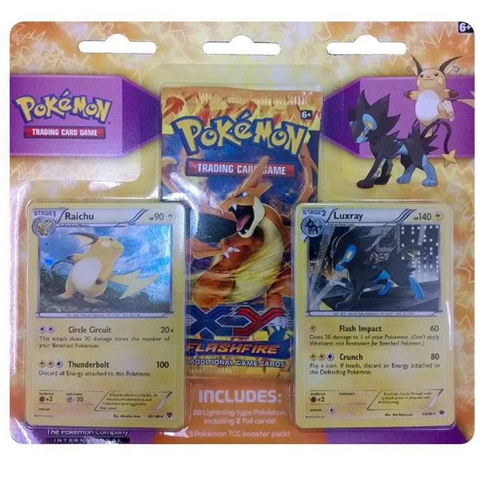 Pokemon Gym Collector Pack - Lightning