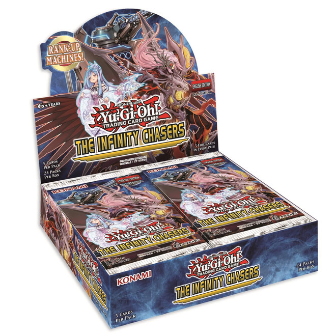 Yu-Gi-Oh! - Infinity Chasers - Booster Box - (24 Packs)