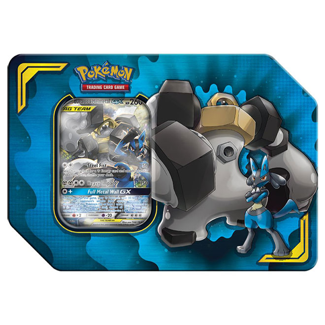 Pokemon - Power Partnership Tin - Lucario & Melmetal - GX