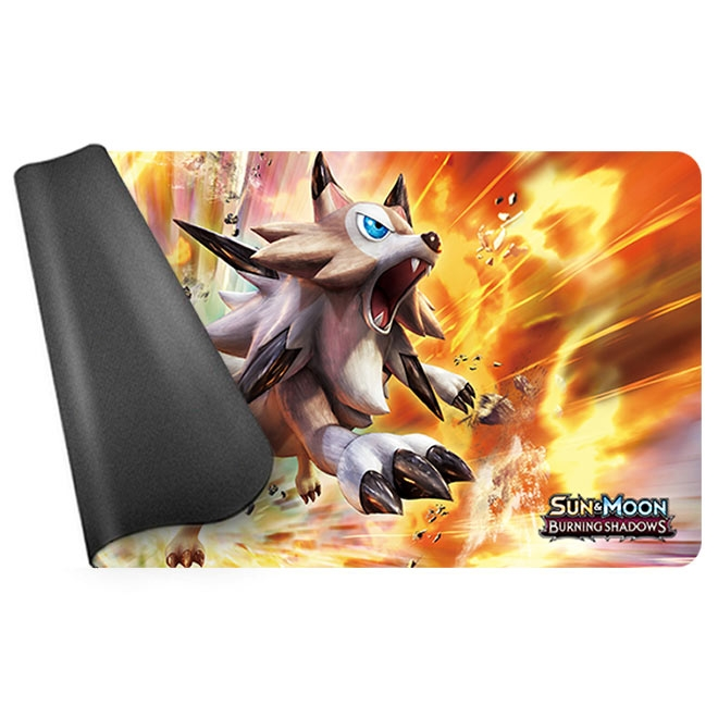 Pokemon - Burning Shadows - Lycanroc Playmat (60cm x 30cm)