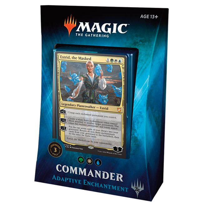 We have more stock of the MTG: COMMANDER 2018 Decks - Total Cards