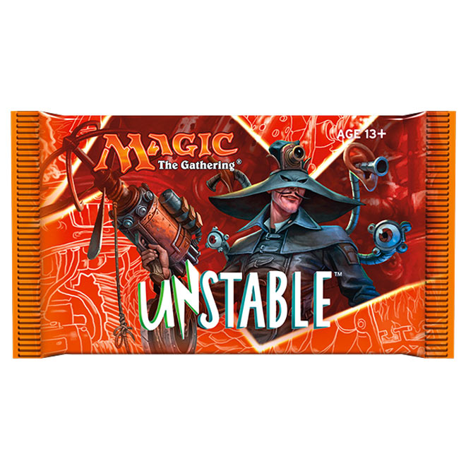 Magic The Gathering - Unstable - Booster Pack