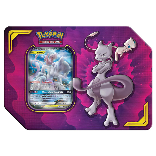 Pokemon - Power Partnership Tin - Mewtwo & Mew