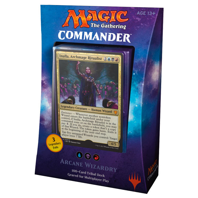 Magic The Gathering - Commander 2017 Deck - Arcane Wizardry
