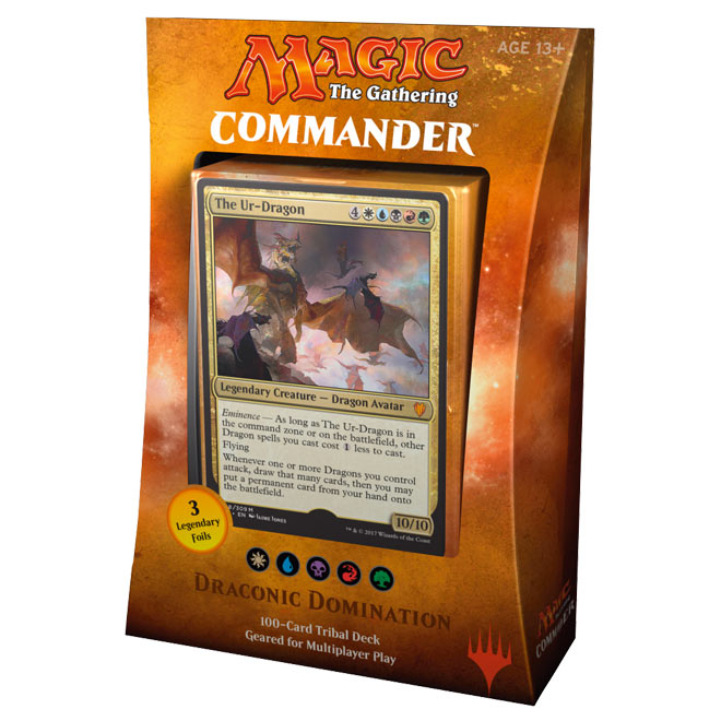 Magic The Gathering - Commander 2017 Deck - Draconic Domination