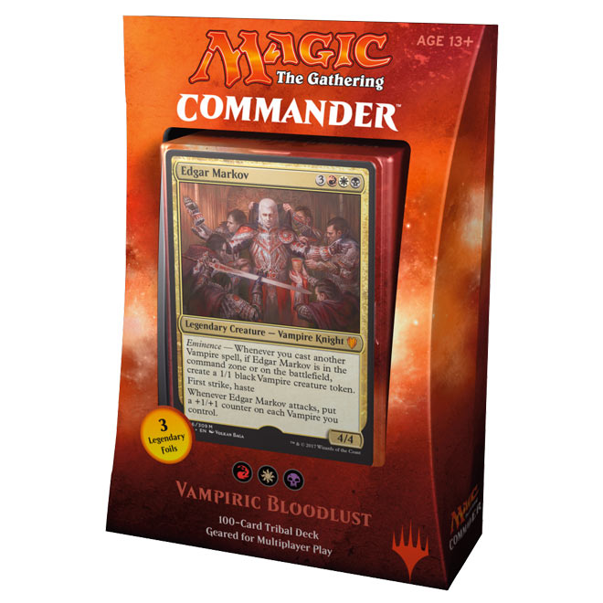 Magic The Gathering - Commander 2017 Deck - Vampiric Bloodlust