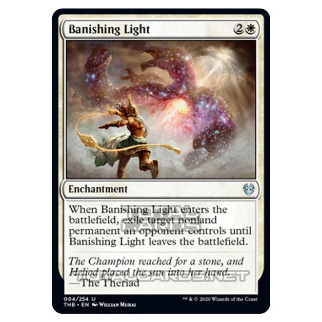 NEW 4x Banishing Light MTG Theros Beyond Death