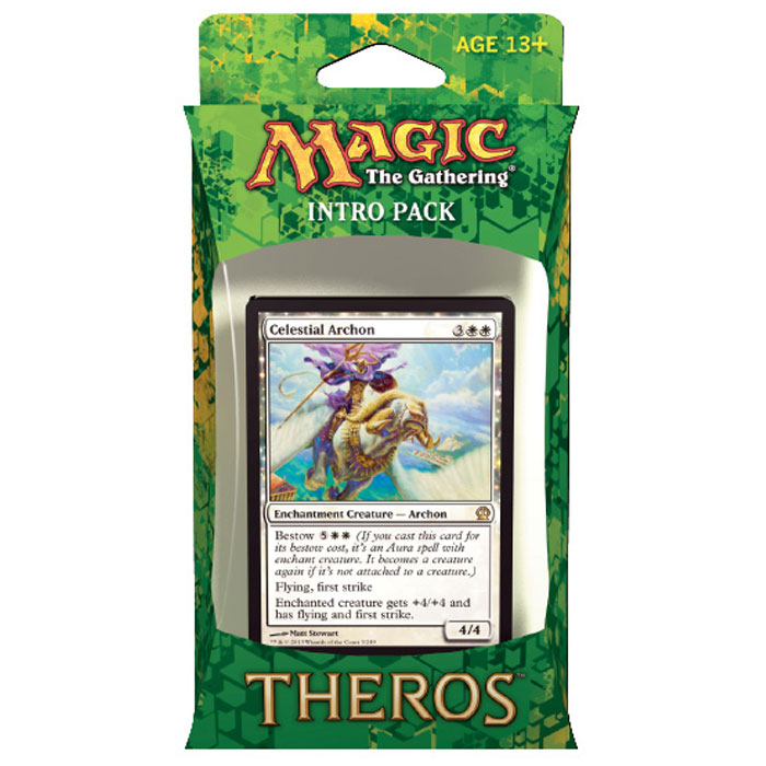 Magic The Gathering - Theros - Intro Pack - Celestial Archon