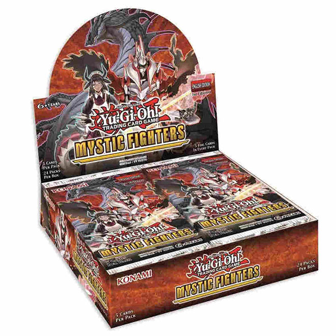 Yu-Gi-Oh! - Mystic FIghters - Booster Box - (24 Packs)