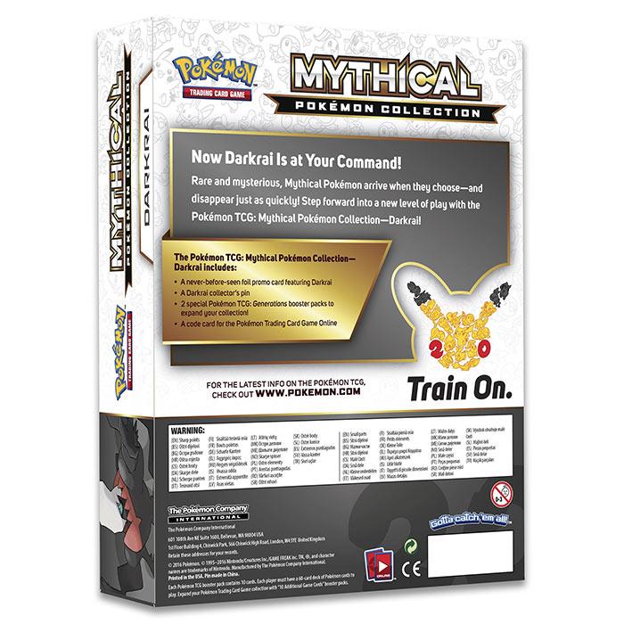 Pokemon - Darkrai Mythical Collection Box