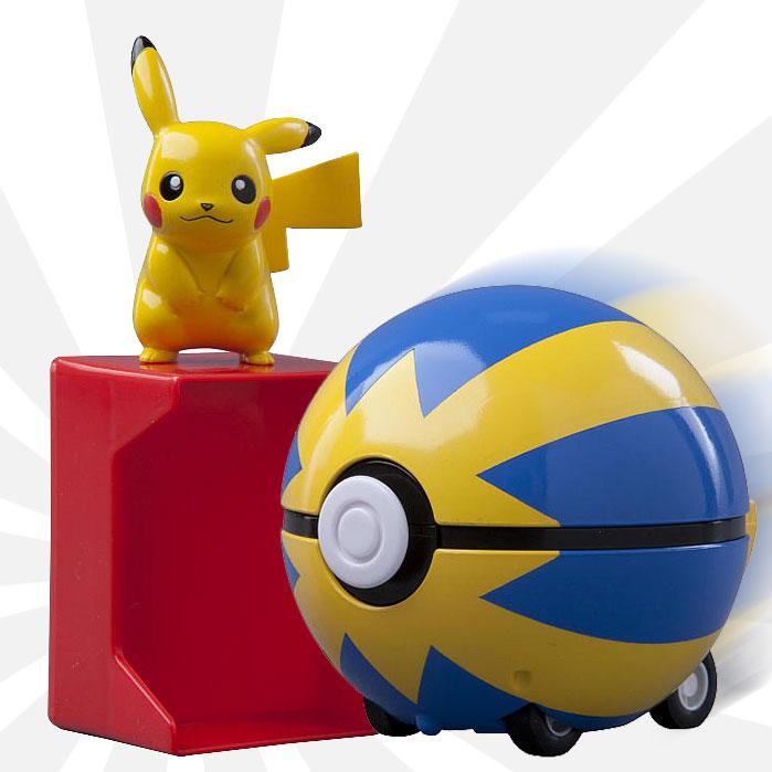 Pokemon - Catch 'n' Return Pokeball - Pikachu with Quick Ball