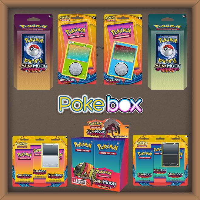 Pokemon - Sun & Moon - Guardians Rising - Pokebox