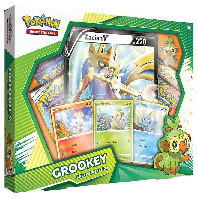 Pokemon - Galar Collection Box - Grookey & Zacian