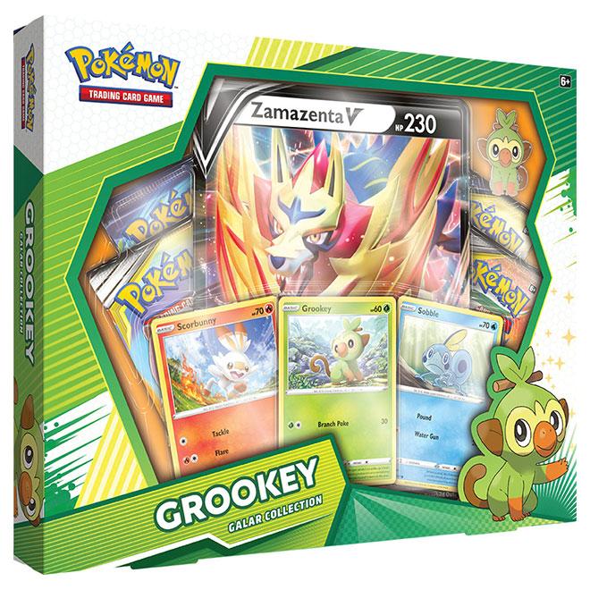 Pokemon - Galar Collection Box - Grookey & Zamazenta