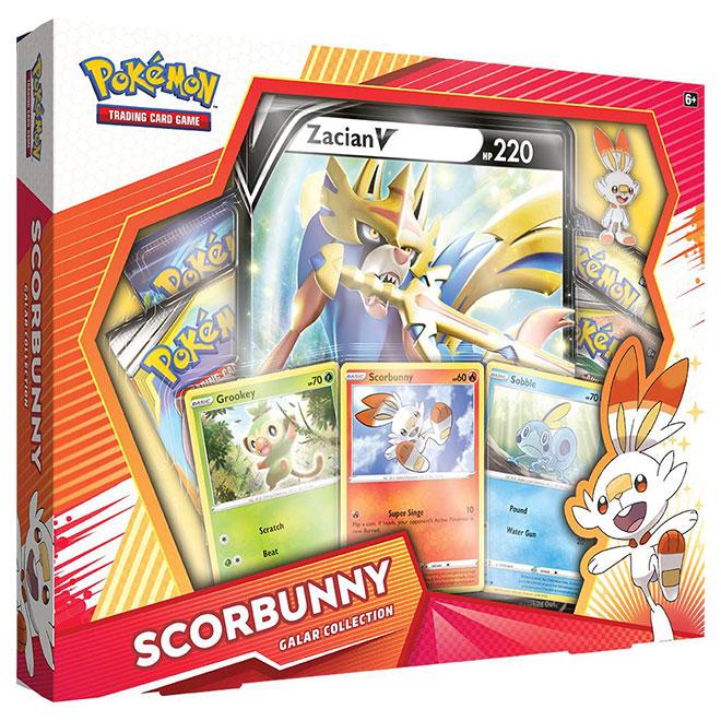 Pokemon - Galar Collection Box - Scorbunny & Zacian