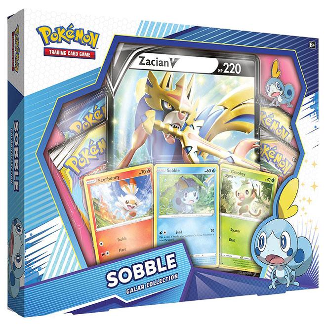 Pokemon - Galar Collection Box - Sobble & Zacian